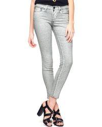 True Religion European Chrissy Mid Rise Super Skinny Womens Jean - Lyst