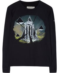 Current/Elliott Noir Festival T-shirt - Lyst
