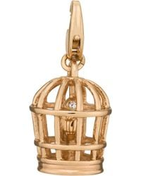 Kate Spade - Bird Cage Charm - Lyst