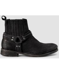 AllSaints Womens Dakota Boot black - Lyst