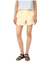 Marc By Marc Jacobs - Wrap Shorts - Lyst