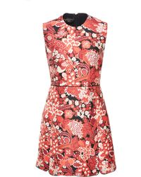 Giambattista Valli Tapestry Jacquard Sleeveless Dress - Lyst