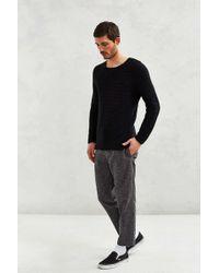 Neuw Johnny Knit Crew-neck Sweater - Black
