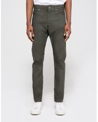 Engineered Garments - Olive Ripstop Type 6 Jean - Lyst