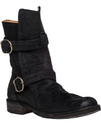 Fiorentini + Baker | Eternity 713 Textured-Suede Boots | Lyst
