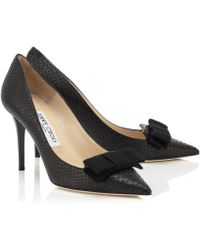Jimmy Choo Black Dabble - Lyst