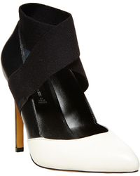 Steven by Steve Madden Rustyy Leather Pumps - Lyst