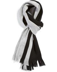 BOSS | 'fadis' Wool Scarf | Lyst