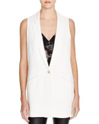 Elizabeth and James | Garnet Longline Vest | Lyst