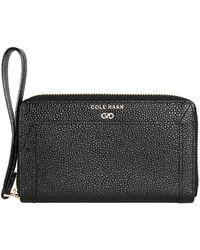 Cole Haan - Eva Leather Smartphone Wallet - Lyst