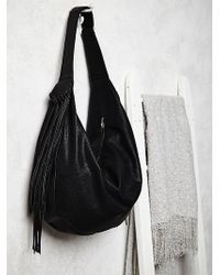 Free People Wild Heart Vegan Hobo - Lyst