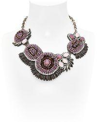 Deepa Gurnani Mergers And Acquisitions Necklace - Metallic