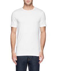Sunspel Stretch Cotton Blend Undershirt - Lyst