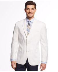 Tommy Hilfiger Linen Trim-Fit Sport Coat - Lyst