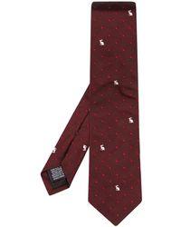 Paul Smith Rabbit and Heart-jacquard Silk Tie - Lyst