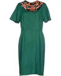 Kenzo Short Dress - Lyst