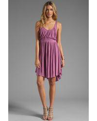Free People Cast Your Net Dress in Purple - Lyst