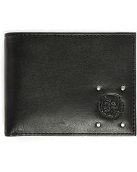 DIESEL | Khaki Hirest Xs Wallet With Camouflage Interior | Lyst