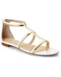 Jimmy Choo Tabitha T-Strap Sandals - Lyst