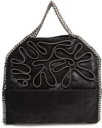 Stella McCartney Eco Suede Falabella Bag with Zip Detail - Lyst