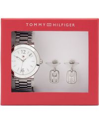 Tommy Hilfiger - Watch And Earring Set - Lyst
