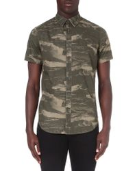 G-star Raw Wave Camo Shirt Combat - Lyst