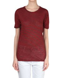 Etoile Isabel Marant T-Shirt Andrei Cotton And Linen - Lyst
