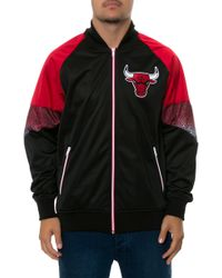Mitchell & Ness The Chicago Bulls Court Vision Jacket - Lyst