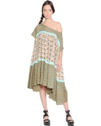 Yvonne S Printed Cotton Voile Dress - Lyst
