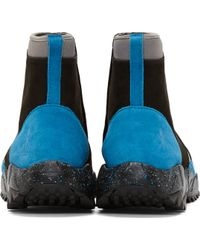 Opening Ceremony - Blue and Black Zx500 Trail Boots - Lyst