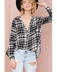 Nasty Gal Fly Liner Top - Lyst
