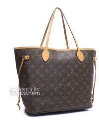 Louis Vuitton | Pre-owned Monogram Canvas Neverfull Mm Bag | Lyst