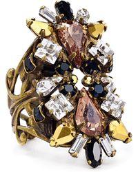 Sorrelli - Swarovski Crystal Ring - Lyst