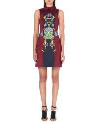 Mary Katrantzou Digitalprint Cotton and Silk Dress Multi - Lyst