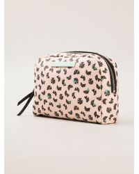 Marc By Marc Jacobs Pinwheel Print Make Up Bag - Lyst