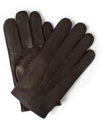Polo Ralph Lauren Thinsulate Cashmere and Wool-lined Leather Gloves - Lyst