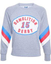 Filles A Papa Demolition Derby Sweatshirt - Grey