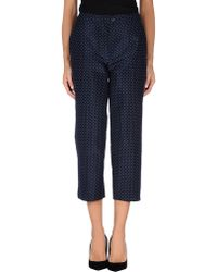 Dior 3/4-Length Trouser - Lyst