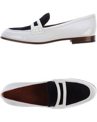 Marc By Marc Jacobs White Moccasins - Lyst