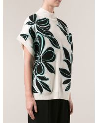 3.1 Phillip Lim Floral Pullover Top - Lyst