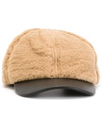 Carven - Shearling Cap - Lyst