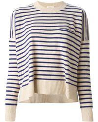 Demylee Fine Knit Stripes Sweater - Lyst
