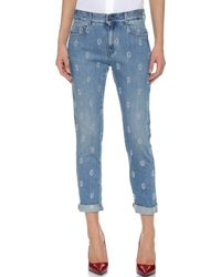 Stella McCartney The Skinny Boyfriend Jeans - Classic Blue - Lyst