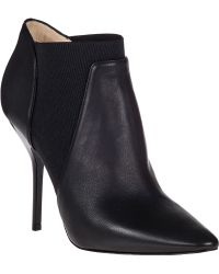 Jimmy Choo Deluxe Bootie Black Leather - Lyst