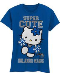 MYU Apparel - Girls' Orlando Magic Super Cute Hello Kitty T-shirt - Lyst