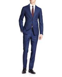 Burberry London Stirling Virgin Wool Travel Suit - Lyst