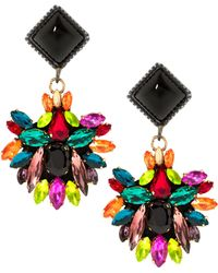 Maiocci Collection - Meras Multicolour Hand Made Earrings - Lyst