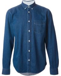 Acne Studios Isherwood Denim Shirt - Lyst