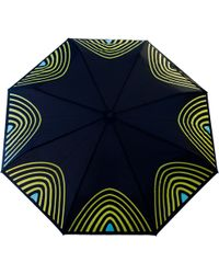 Raindance Umbrellas - Starlight Yellow & Turquoise - Lyst