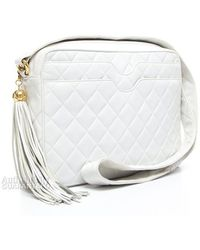 Chanel Preowned Lambskin Vintage Camera Bag - Lyst